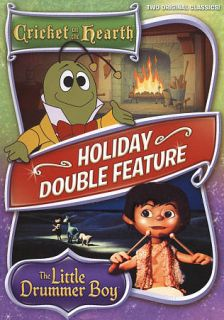 Cricket on the Hearth The Little Drummer Boy DVD, 2009, 2 Disc Set