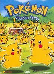 Pokemon Vol. 12 Pikachu Party (DVD, 199