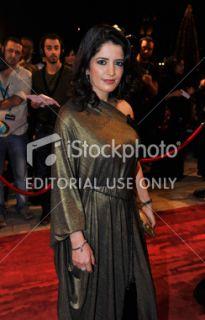 Sanaa Muzian   2010 Dubai International Film Festival   Day 5