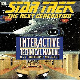 Star Trek The Next Generation    Interactive Technical Manual PC, 1995