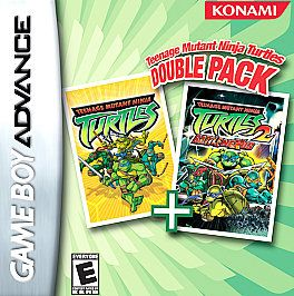 Teenage Mutant Ninja Turtles Double Pack Edition Nintendo Game Boy