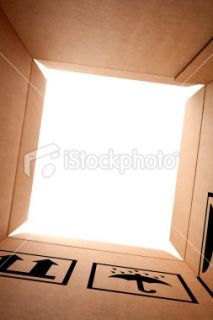 stock photo 13945999 cardboard box