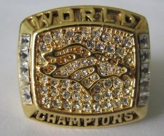 1997 Denver Broncos Super Bowl Ring ChampionShip Ring Football NFL