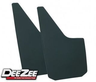 New Pair of DeeZee Universal Rubber Mud Flaps Fits Truck Van Suv