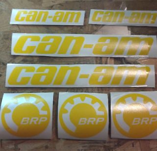 CAN AM decals 17colors availmander outlander max ds 450 500 650