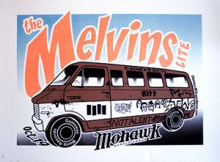 Melvins The Melvan Posters ORIGINAL & VARIANT Kurt Cobain Nirvana
