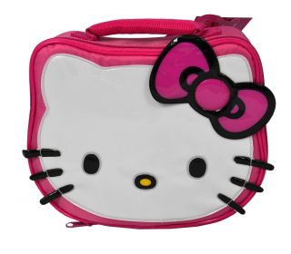 Hello Kitty Head Shaped OFFICIAL Lunch Bag School Box Insulated   NEW