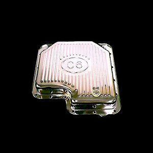Chrome Transmission Pan Fits Ford C 6 Trans Mustang Galaxie Cougar