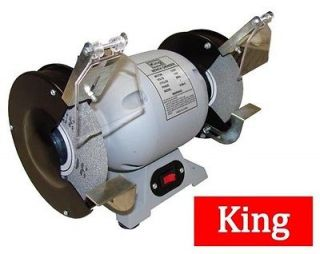 New 8 Bench Grinder Heavy Duty 3/4 HP  8 Grinding Wheel