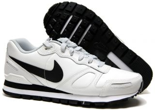 Waffle Trainer Mens Shoes SZ 8 ~ 13 #454395 114 Wht/Blk/Platnm (694