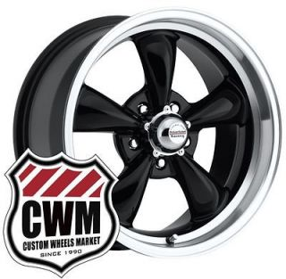 17x8 Black Classic Wheels Rims 5x4.50 lug pattern for Chrysler 300
