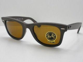 Ray Ban Wayfarer 2140 889 Matte Brown B15 New Authentic Italy *Buyer