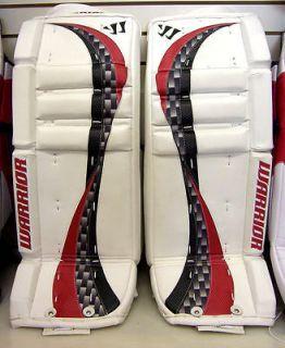 New Warrior Swagger Pad goalie junior leg pads red 25+1 jr ice hockey