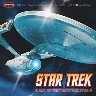 Polar Lights 1/350 Star Trek USS Enterprise A Plastic Model Kit 35
