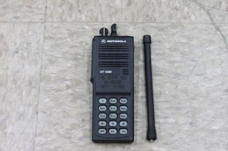 Newly listed Motorola HT1000 VHF 16 CH 136 174 Full Keypad Radio Only