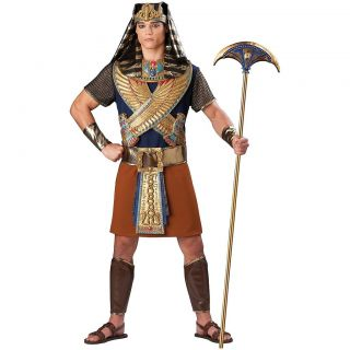 Mighty Pharaoh Adult Mens Egyptian King Tut Deluxe Halloween Costume