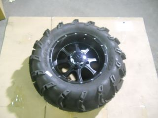 ITP SS108 4/137 3+5 ATV WHEEL & 6 PLY ITP MUDLITE XL 27X12X14 TIRE