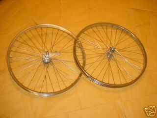BICYCLE WHEELS FIT SCHWINN BALLOON TIRE BIKES COLLUMBIA ROADMASTER 26