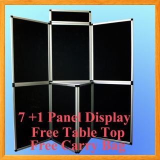 Velcro Black Panel Header Trade Show Display Presentation