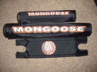 Newly listed OLD MID SCHOOL NOS MONGOOSE 3 PIECE PAD SET BMX BIKE