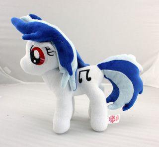 Custom My Little Pony Friendship is Magic DJ Vinyl Scratch Plush Toy