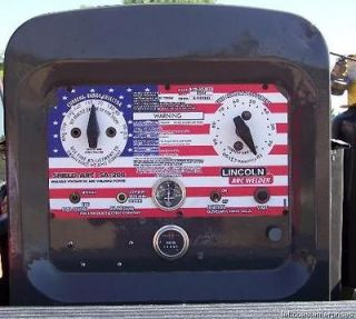 Electric Arc Welder SA 200 163 American Flag Face Plate, L 5750