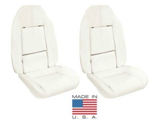 72 74 Nova Bucket Seat Foam Full Set 2 Seats Made in the USA