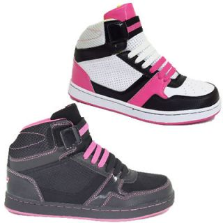 Ladies Ankle Girls HI High Tops Trainers Women Dance Baseball School