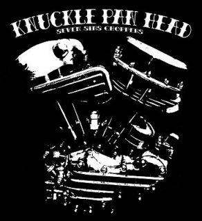 KNUCKLEHEAD PANHEAD ENGINE BOBBER CHOPPER TEES HARLEY DAVIDSON