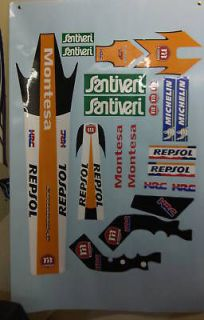 montesa cota 315r 315 r repsol sticker decal set from