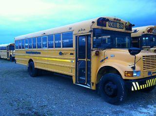 School Bus   1999 IC/AmTran 66 (Child) 44 (Adult) passenger capacity