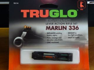 SIGHT LIGHT GATHERING SYSTEM FOR MARLIN 336 RIFLE NIB FIBER OPTIC