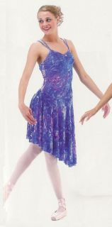 BEAUTIFUL SOUL Lyrical Ballet Dance Dress Costume Fairy Halloween CM,L