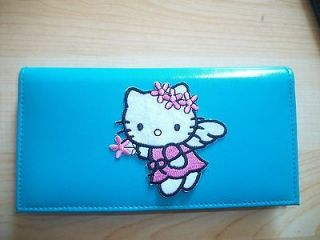 Hello Kitty Blue Wallet Style Checkbook Cover