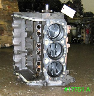 gm 4 3 chevy engine rebuildable short block 1987 17751