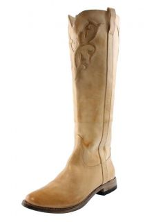 Spirit by Lucchese NEW Sandra Beige Sand Leather Cowboy Western Boots