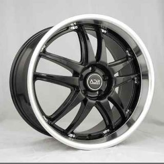 18X8.5 ADR 97 BLACK WHEELS RIMS BMW 5 6 7 8 M3 CHEVY BLAZER S10 GMC