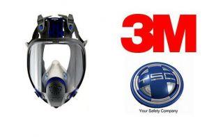 3M Small Ultimate FF FX 401 Full Face Facepiece Respirator 3MRFF 401