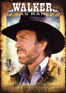 Walker Texas Ranger   The Complete First Season (DVD, 2006, 7 Disc Set