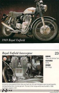 1969 Royal Enfield Interceptor Motorcycle   Engine 736 OHV Vertical