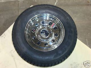 chrome 13 tires wheels enclosed boat trailer parts time