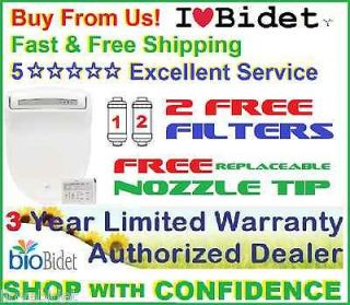 FREE FILTERS+ FREE NOZZLE TIP+ Bio Bidet BB 1000 ELONGATED or ROUND