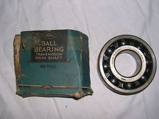 1938 1942 Ford truck 3 or 4 speed Transmission NOS Main Shaft Bearing