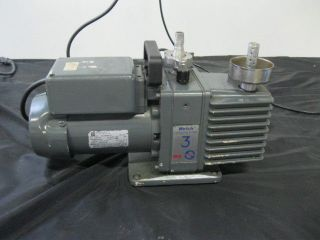 Welch Vacuum Pump 3 8910 Emerson C37 JXPW 157 115/230 V RPM 2850/3450