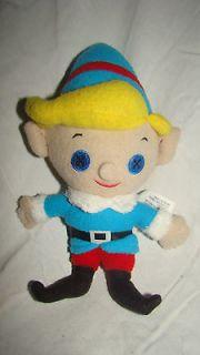 Rudolph Red Nosed Reindeer Kirby Dentist Santa Elf Stuffed Animal