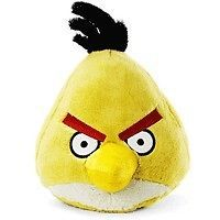 ANGRY BIRDS YELLOW BIRD 8 PLUSH WITH SOUND & TAG   ROVIO COMMONWEALTH