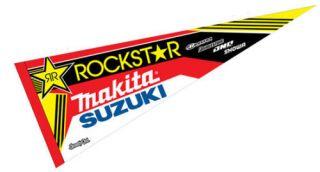 rockstar makita suzuki sx pennant rmz 250 450 ltr rm