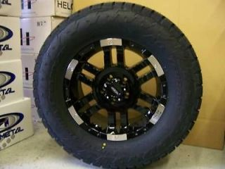 18 Moto Metal 951 Black 285/65 18 Nitto Terra Grappler Tires 33 All