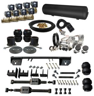 1964 69 Lincoln Continental Air Ride Suspension Kit Airbag 4 Link Kit