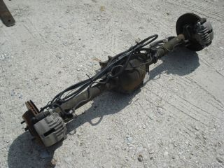 42 DISC BRAKE REAR END S10 CHEVY TRUCK BLAZER JIMMY 2004 46k miles